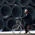 """China, segunda economía mundial, consideró """"un ataque grave a la normalidad del orden comercial internacional"""" estos impuestos aduaneros de 25% sobre las importaciones al acero y 10% a las de aluminio.  / AFP / -"""