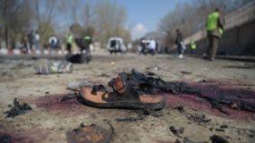 El atentado se produjo ante un hospital ubicado frente a la universidad de Kabul, y a menos de 200 metros de Karte Sakhi.