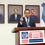 Andrés Navarro, ministro de  Educación, consideró que la  modificación debe ser integral.