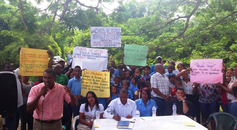 Residentes de Altamira anuncian paro  por incumplimiento de las autoridades