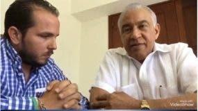 Andrés Bautista junto a Claudio Caamaño Velez.