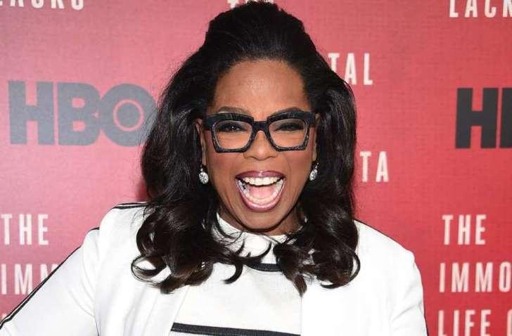 Oprah Winfrey, conductora estadounidense.