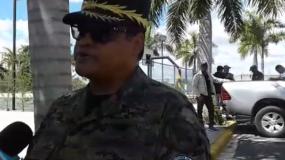 El director del COE, general Juan Manuel Méndez García.