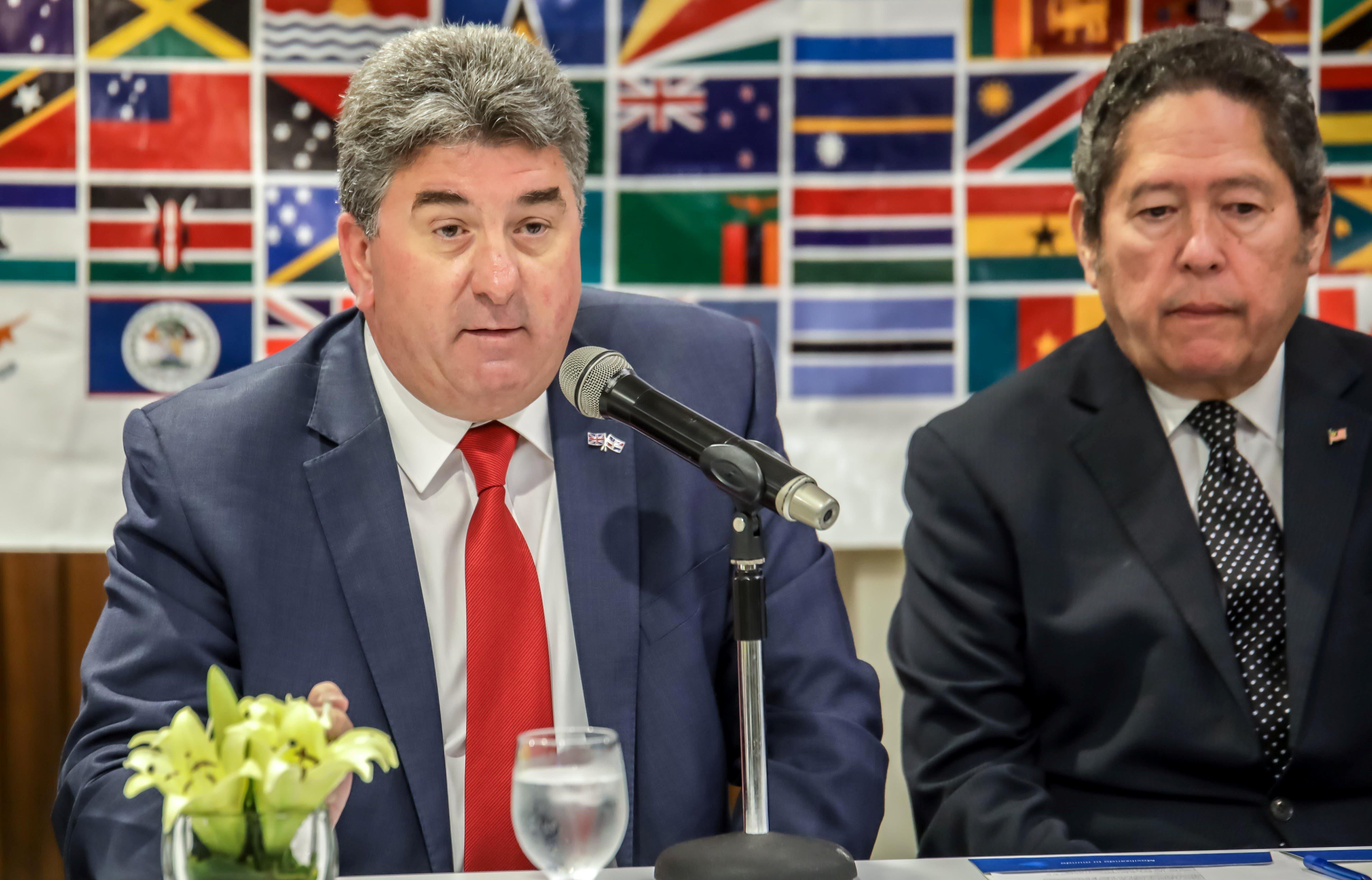 Embajador británico resalta compromiso con el bien común