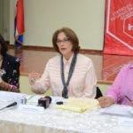 Elsa Alcántara, Lourdes Contreras y Desiree del Rosario.