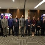 Funcionarios, embajadores y presidentes de cámaras y asociaciones empresariales.