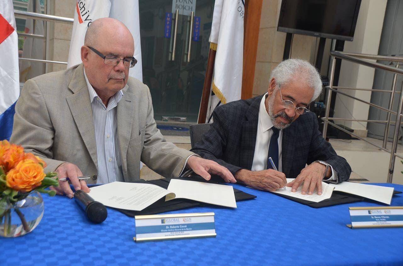 Roberto Cassá y Marcos Villamán