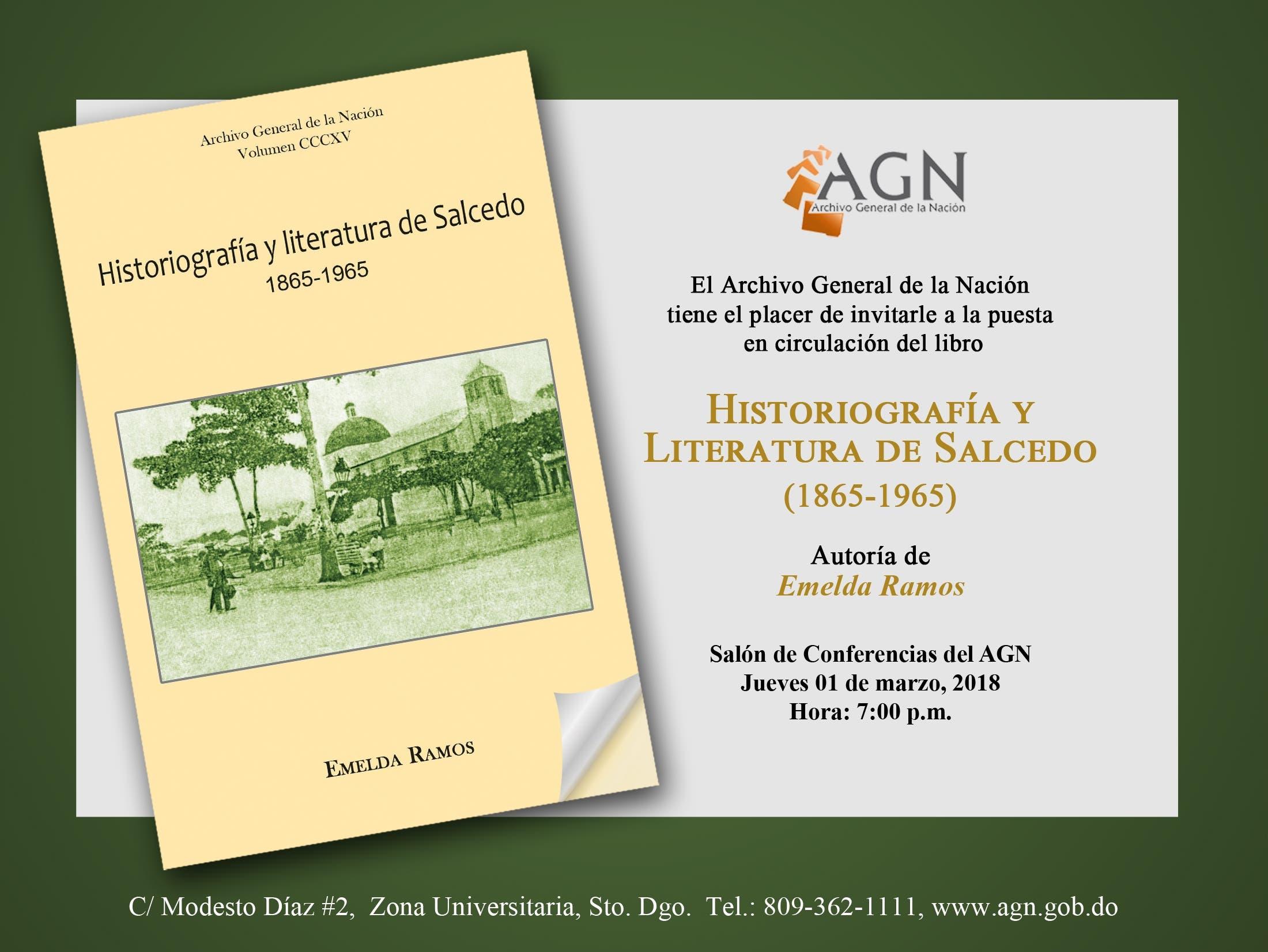 Archivo General de la Nación pone en circulación nuevo libro