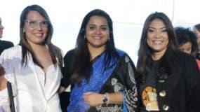 Francina Hungría, Jayathma Wickramanayake y Robiamny Balcácer.