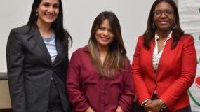 Ana Veras, Natividad Ramírez y Marleni Carrión.