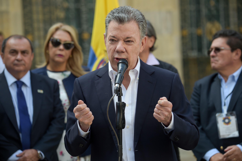 Presidente colombiano invita a vencer la abstención en las elecciones más pacíficas