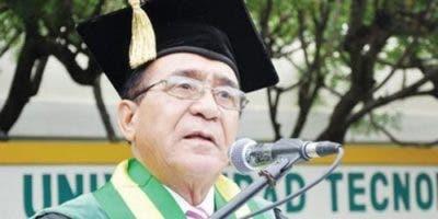 Priamo Rodríguez Castillo, rector de UTESA.