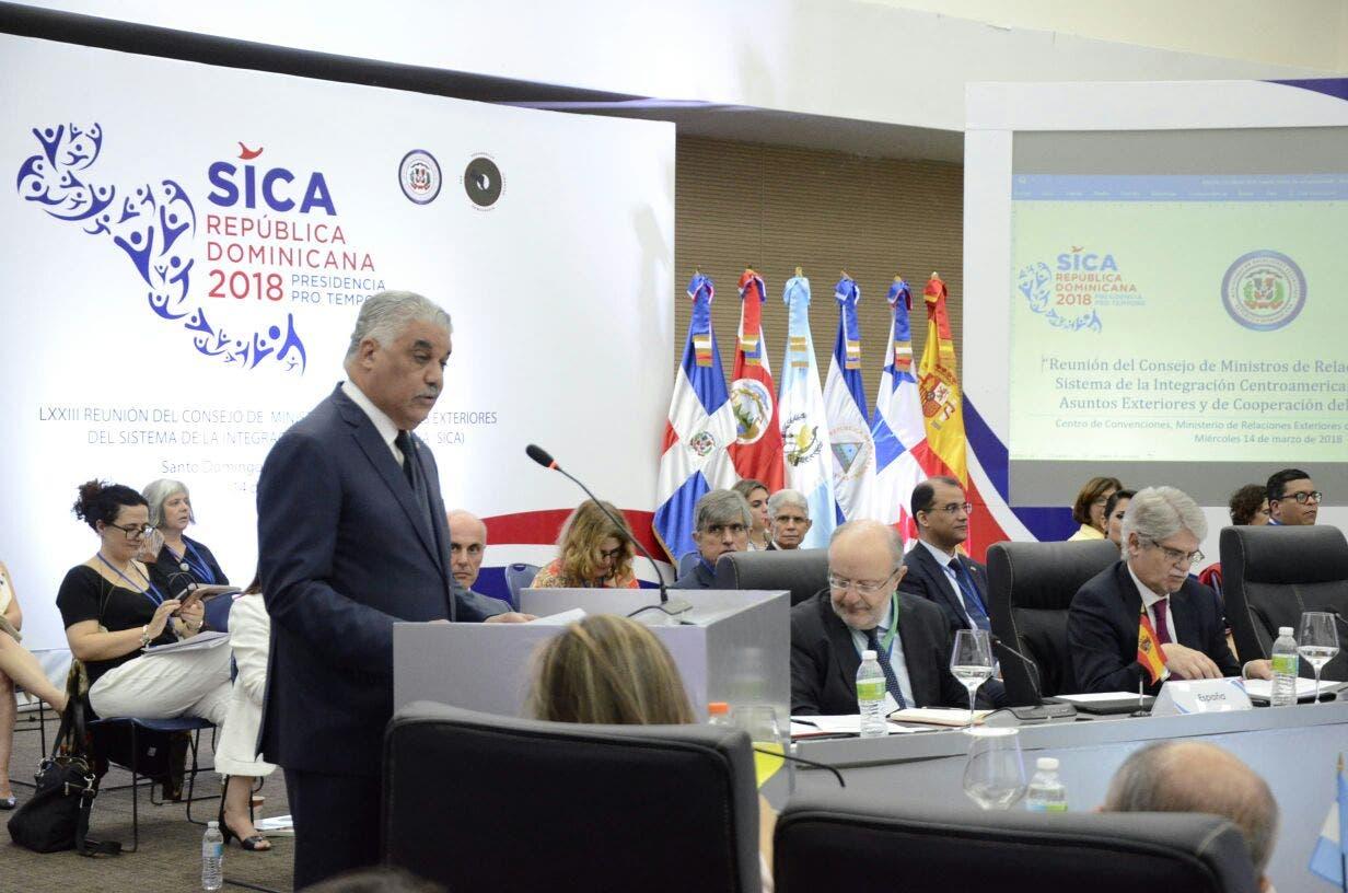 SICA y España revisan en Dominicana estrategias de cooperación