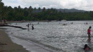 En el municipio de Sánchez se encuentra la playa Las Garitas.