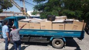 Materiales enviados a la provincia  San Cristóbal.