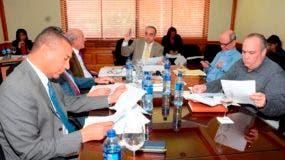 Los miembros de la Comisión también consensuaron varios puntos de los que ya habían sido estudiados por la Comisión Bicameral.