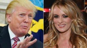 Daniels busca invalidar un acuerdo de confidencialidad sobre una presunta relación extramarital que mantuvo con Trump hace una década. AFP