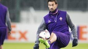 Davide Astori del AC Fiorentina. AP