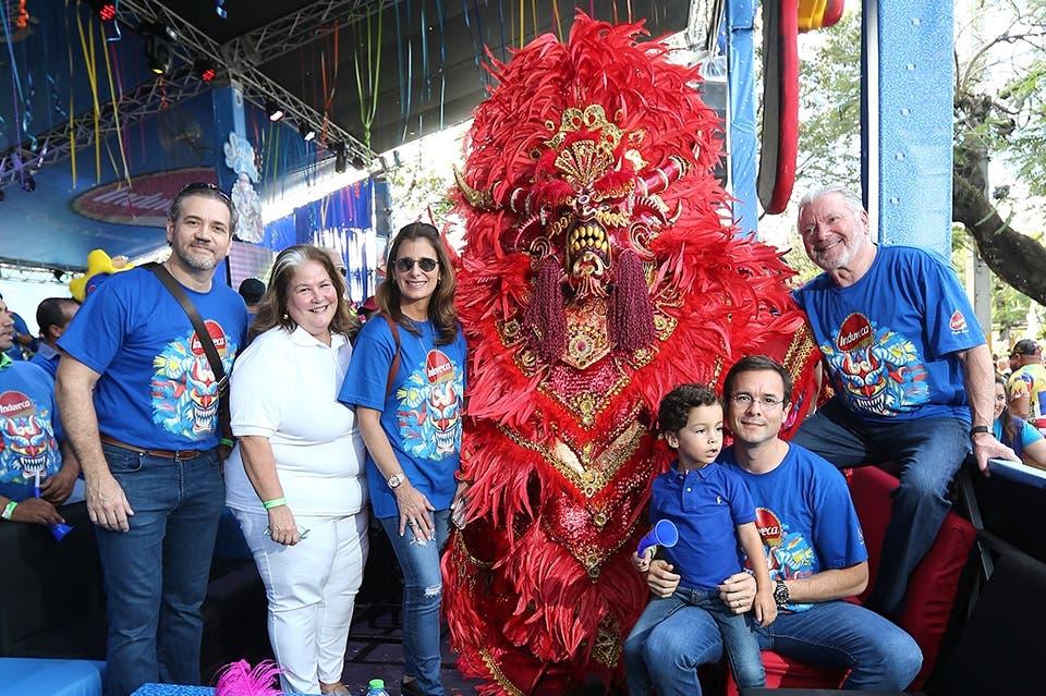 Induveca en el carnaval de La Vega