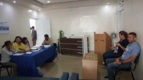 Centro de Votación Especial ubicado en la Casa Nacional del PRM.