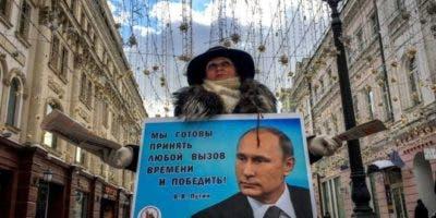 Según el Servicio Ruso de la BBC, ningún candidato tenía posibilidades de vencer a Putin.