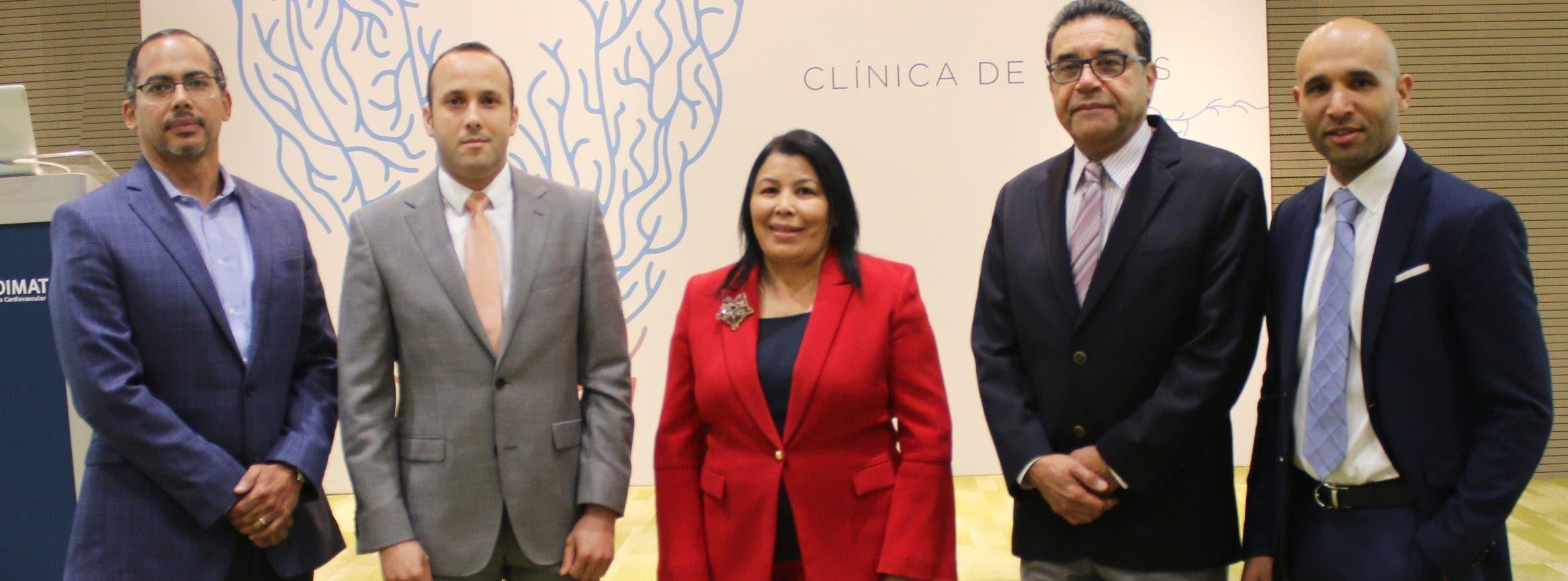 Fabricio González, Francisco de la Cruz, Milagros Ureña,  César Herrera e Isidoro Vargas.