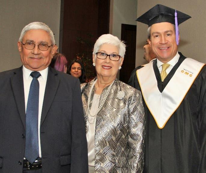 Leonel Melo Quezada, Belkis Guerrero Villalona y Leonel Melo Guerrero.