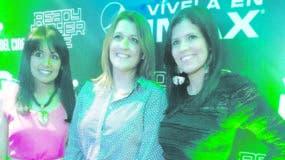 Natasha Rodríguez, Blanca Guzmán y Mirna Pina.