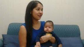 Enfermeras debieron alumbrar con sus teléfonos celulares el vientre de Karelys Sulbarán, quien dio a luz a su pequeño Lucas durante una falla eléctrica