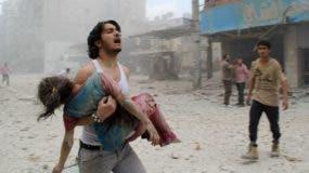 El supuesto ataque con armas químicas en la ciudad siria de Duma se produjo el sábado pasado.