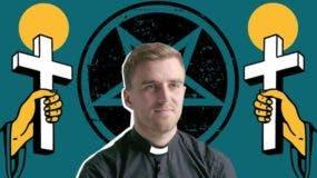 Atkins creció en una familia cristiana pero en su adolescencia se dedicó al satanismo.