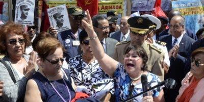 Organizaciones  recordaron la gesta de abril.   José de León