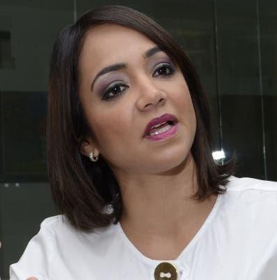 Faride Raful, diputada del PRM.  Archivo.