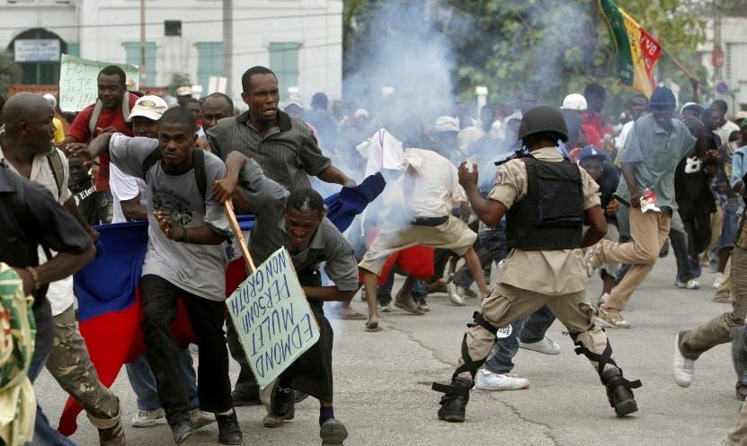En Haití matan un hombre durante una manifestación