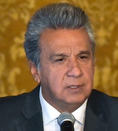 Lenín Moreno se desvinculó de manera unilateral.