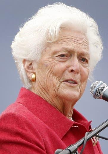 A Barbara Bush le sobreviven su marido y cinco hijos.