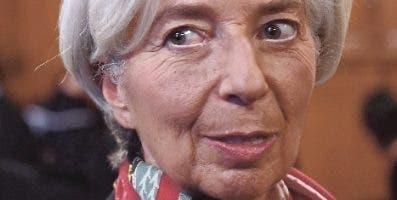 Christine Lagarde, directora del FMI. fuente externa