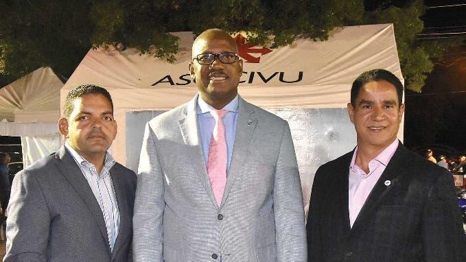 Peter Cabrera, Alfredo Martínez, Ángel Alberto Then.