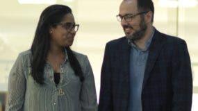 Chris Corcino y Dalissa Heredia comenzaron sus proyectos sin   planificación y tienen más de trece años de casados.  elieser tapia