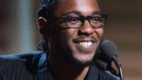 El rapero de 30 años Kendrick Lamar.
