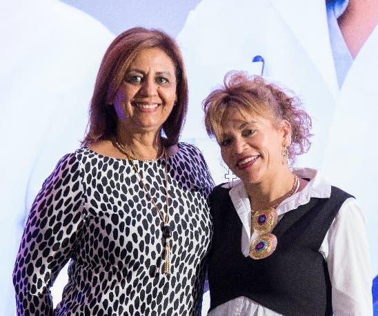 Margarita de Delgado y Alba Garzón.