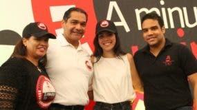 Argelia Campusano, Ramón del Rosario, Daniela del Pino y Oscar del Rosario.