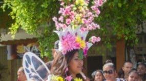 La reina del desfile.