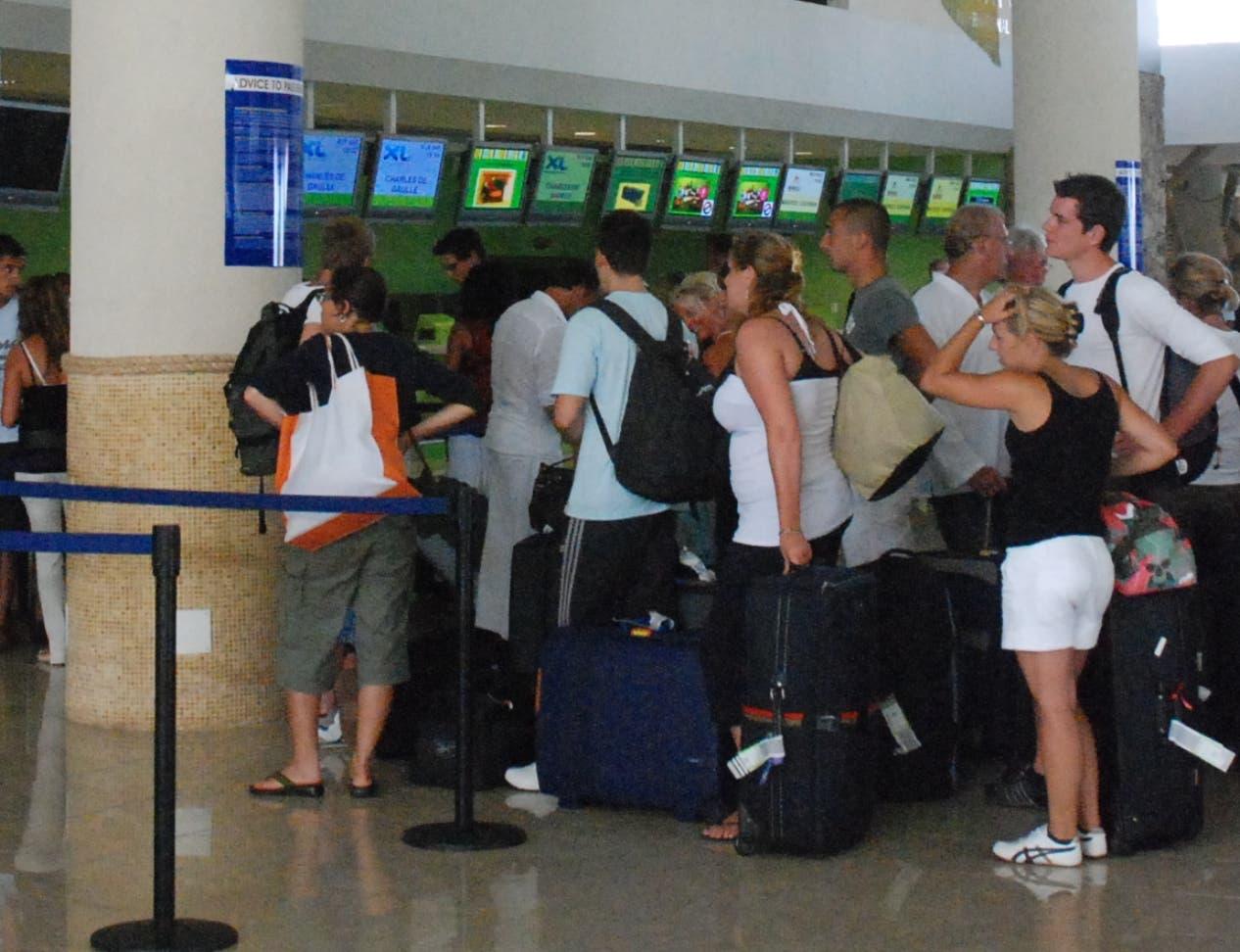 La aerolínea Pawa Dominicana  tenía gran auge en el país  para volar a países cercanos.   Archivo