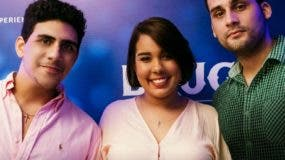 Los ganadores del concurso José Alejandro Matuk, Carlos Rafael Pou y Lisselott Cordero.