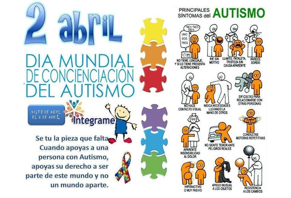 Hoy es Día Mundial de Concienciación sobre el Autismo