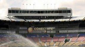 """El diseño arquitectónico del nuevo palco de prensa del estadio Quisqueya, mejor conocido como el """"séptimo cielo"""" ."""