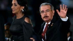 El presidente Danilo Medina citó la incorporación  de la Cuenta Única  y la Ley de Compras como pasos de avance.  fuente externa.
