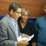 Comisión de  Derechos Humanos entregó a Misael Vólquez.