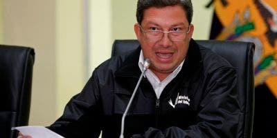"""""""A través del canal de comunicación con alias Guacho (líder de los captores) nos ha llegado información el día de ayer en horas de la noche sobre un nuevo secuestro de dos ciudadanos"""", informó el ministro del Interior, César Navas."""